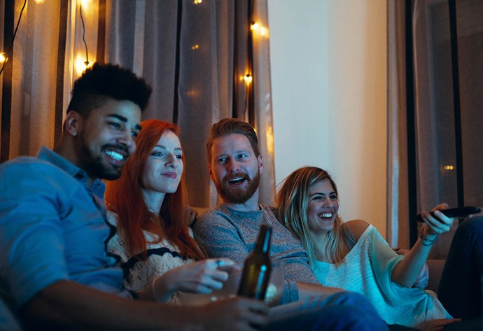 If you're hoping for this sort of scene in your new flat, forget about it. Socialising, watching TV together or cooking together is discouraged.