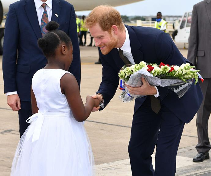 Prince Harry Zambia