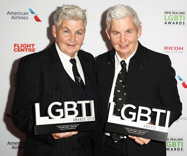 The Topp Twins win big at the LGBTI awards and speak out on the portrayal of gay couples on MAFS