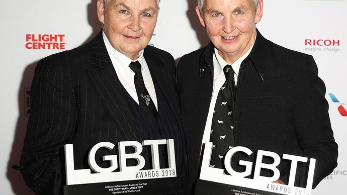 Topp Twins LGBTI Lifetime Achievement Award