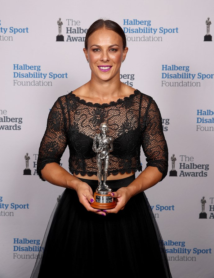 Lisa won the 2017 Supreme Halberg Award