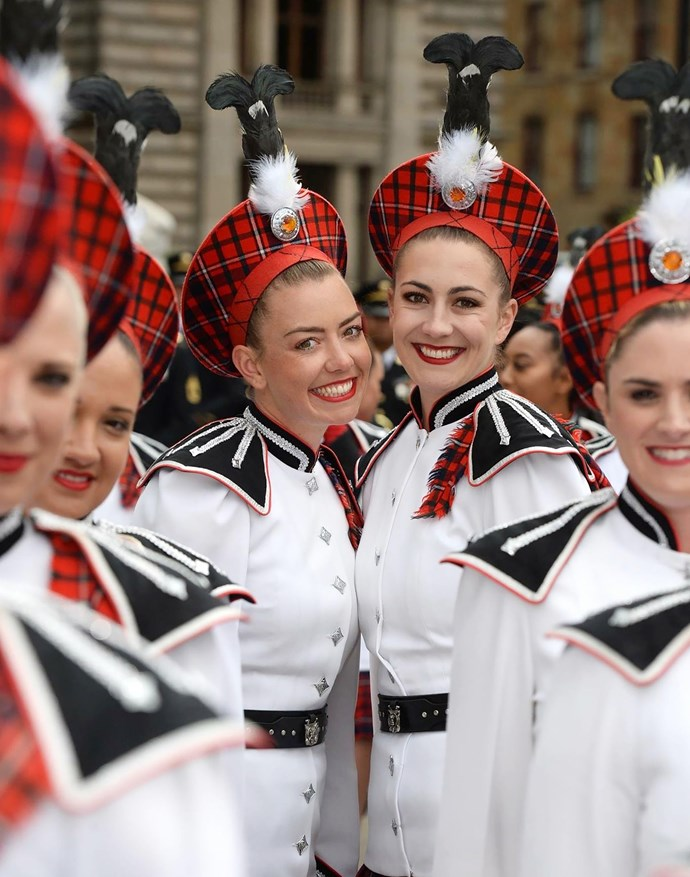 Hayley and her team have traveled as far as Edinburgh to perform
