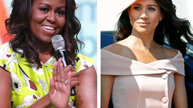 Michelle Obama has offered some sage advice for Duchess Meghan
