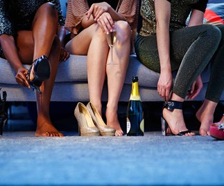 How to get your feet prepped for party season