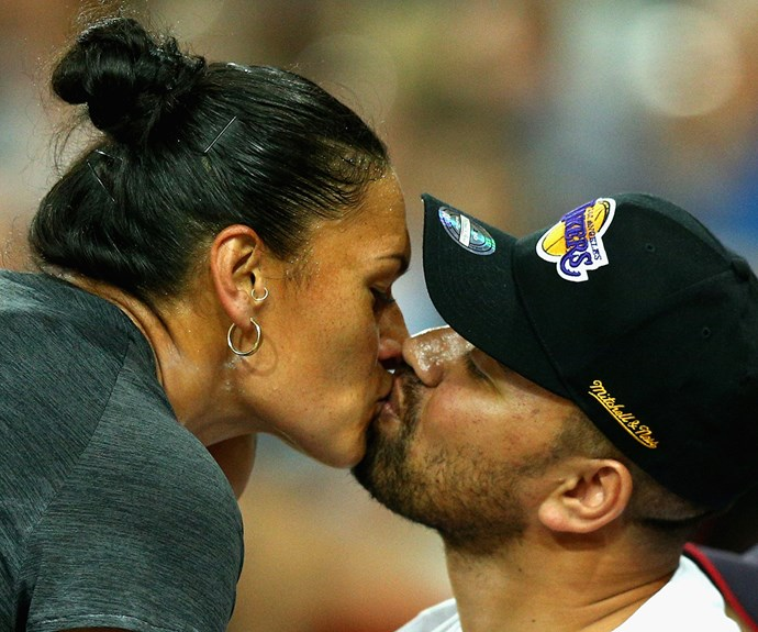 Dame Valerie Adams and husband Gabriel Price announce gender of second baby