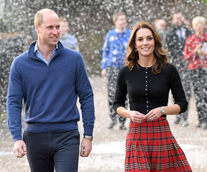 Duchess Catherine dons a festive tartan as she and Prince William host a fun-filled Christmas bash