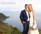 Silver Fern Katrina Grant marries her soulmate in a spectacular clifftop ceremony