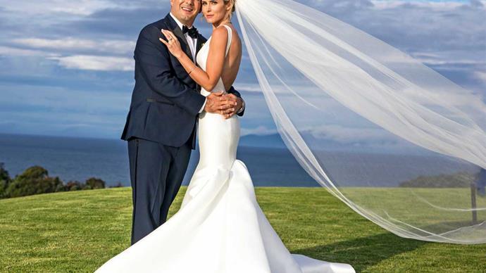 Anna Hutchison's magical Waiheke wedding