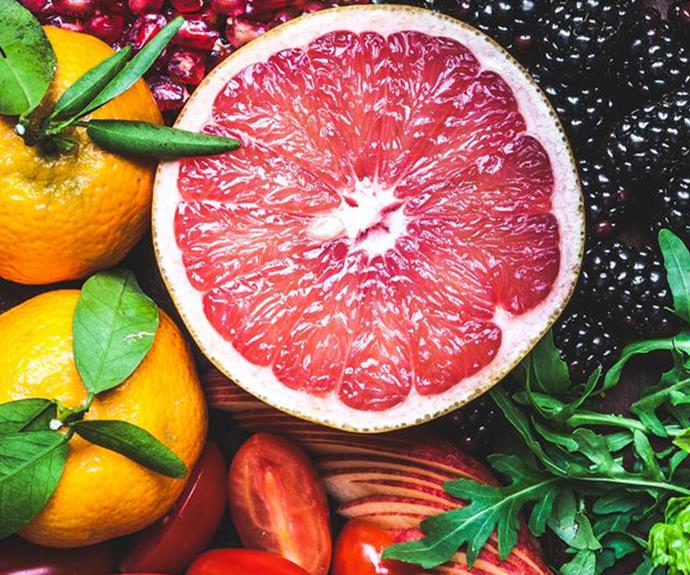 Best known for vitamin C, citrus fruit are also a good source of carbohydrates, potassium, folate, calcium, thiamin, niacin and vitamin B6.