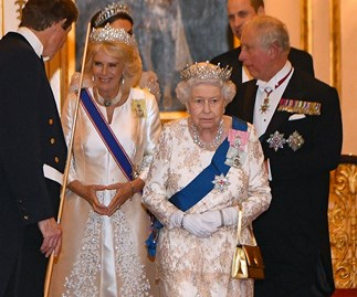 Camilla, Queen Elizabeth