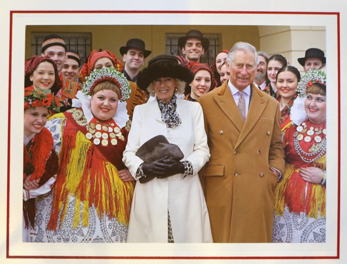 The Prince of Wales and Duchess of Cornwall's 2016 Christmas card featured the pair on a royal tour of Croatia.