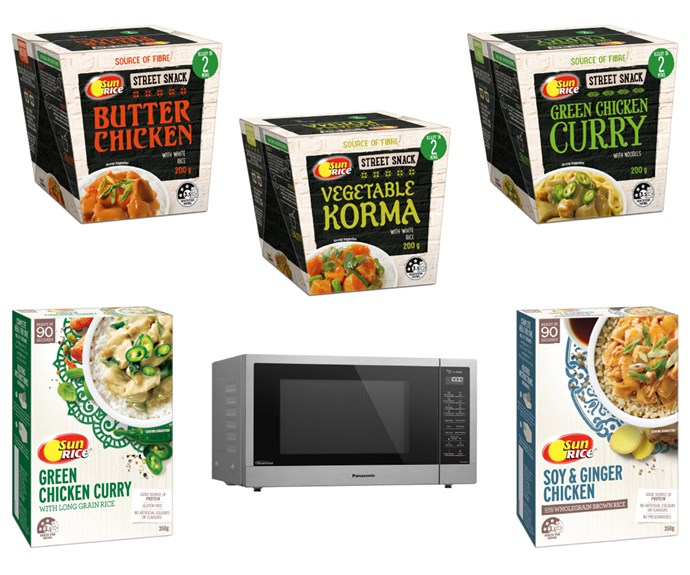 Sunrice ready-to-eat meals and snacks
