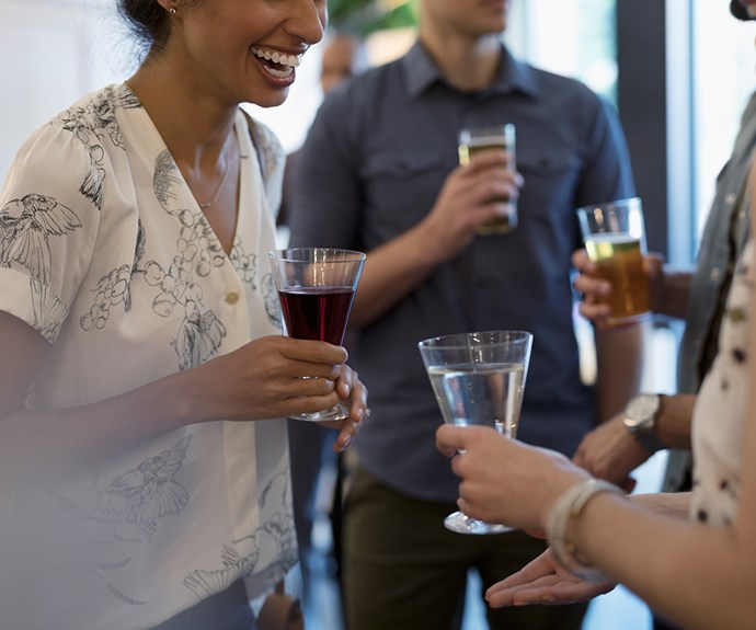 The art of mixing and mingling - and enjoying yourself - at parties and social gatherings