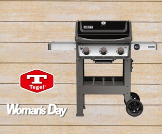 Be in to win a Weber BBQ with Tegel!