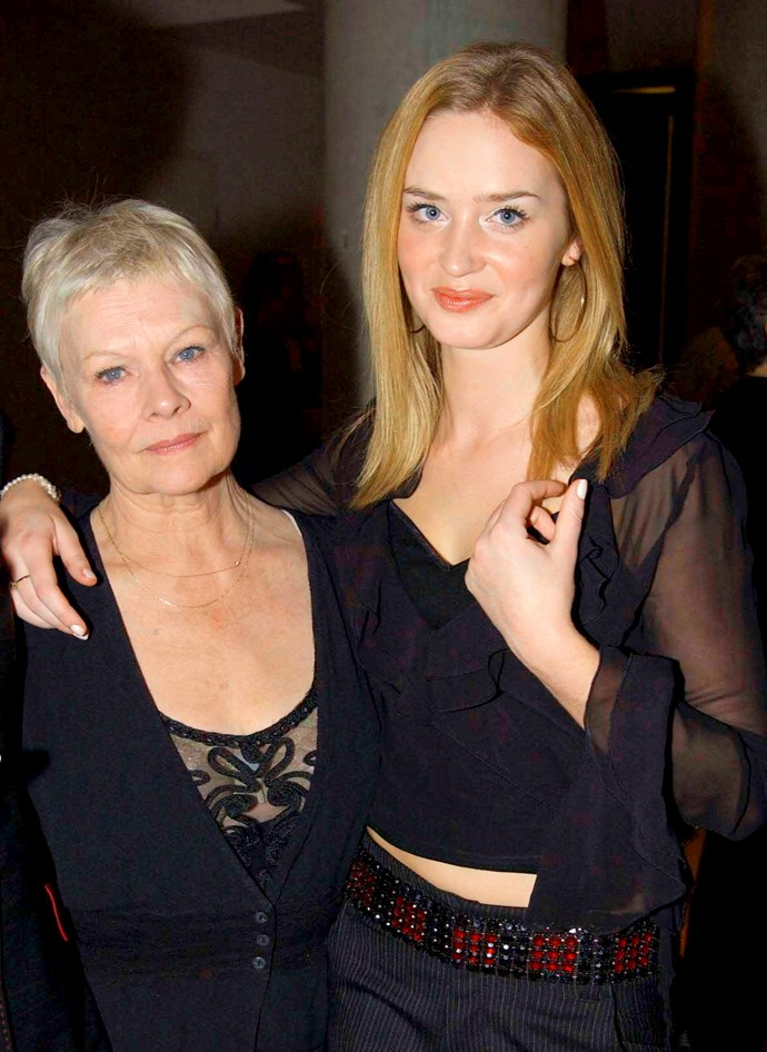 EMily made her stage debut opposite Dame Judi Dench