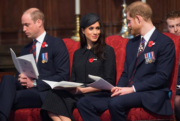 William angered Harry by cautioning him to take things slowly with Meghan.