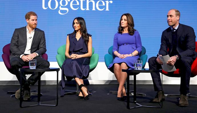 "Some royal watchers say cracks were visible when the ""fab four"" appeared together at the Royal Foundation forum in February."