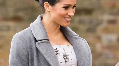 "Duchess Meghan has made her last appearance before Christmas and says she feels ""very pregnant"""