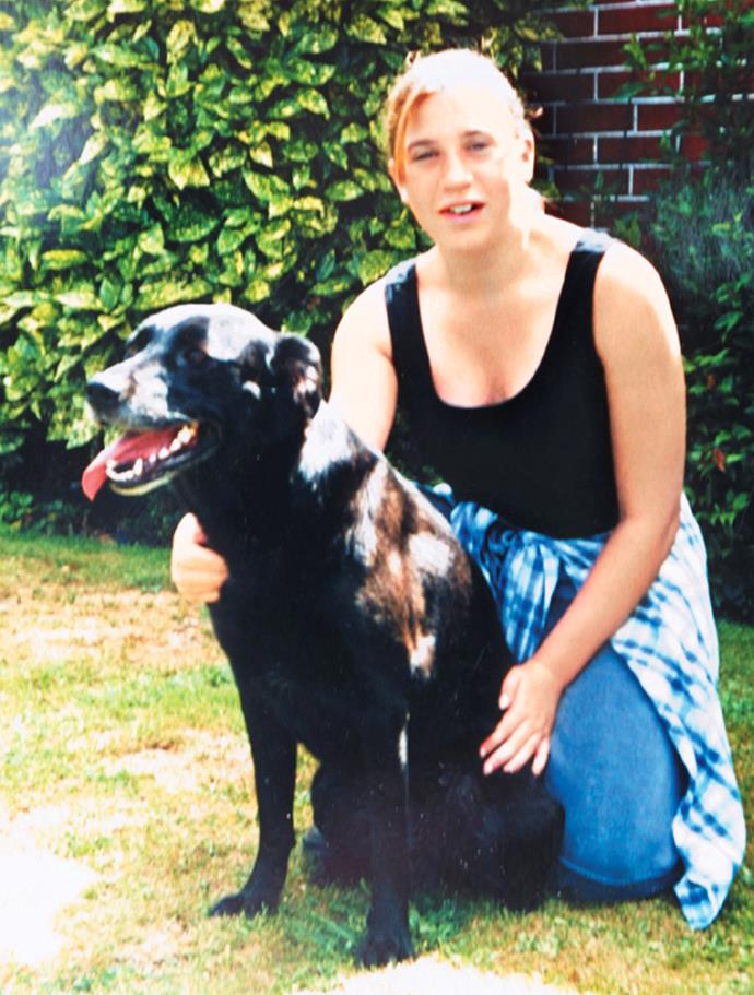 Kirsty took her dog Abby out for a walk and never returned