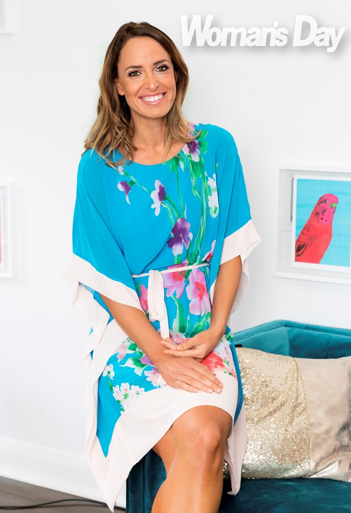 Kelly is known for her bright colours and prints