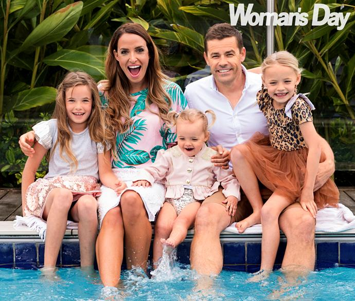 Kelly and Nathan have managed to balance work and family  just swimmingly.