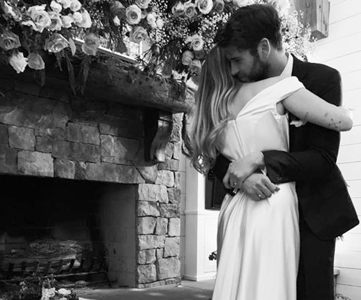 Miley Cyrus And Liam Hemsworth Are Married! See Photos From Wedding