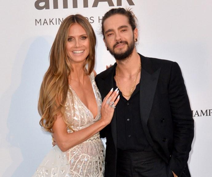 Heidi Klum and fiance Tom Kaulitz