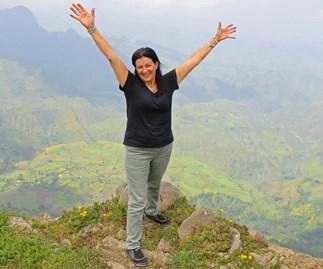 Robyn Preston in Africa