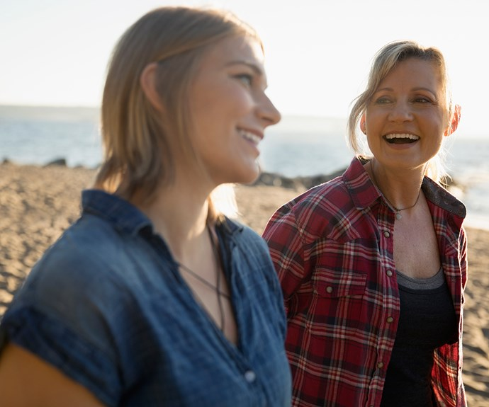 Mother daughter relationship - reconnecting as adults