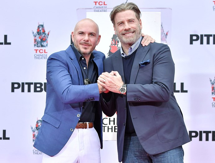 John and his friend Pitbull on December 14th last year.
