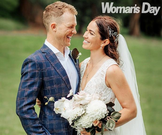 Olympian Sarah Walker marries Vin Elliot