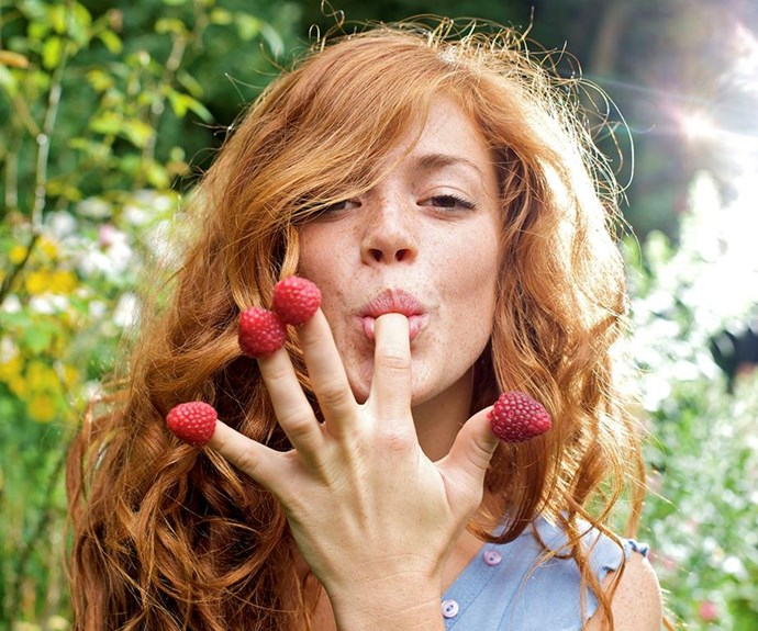 **Raspberries** <br><br> Raspberries, which are low in calories and packed with vitamin C, get their signature scent from ketones – chemical compounds which may potentially help with the breakdown of fat. *(Source: Getty)*