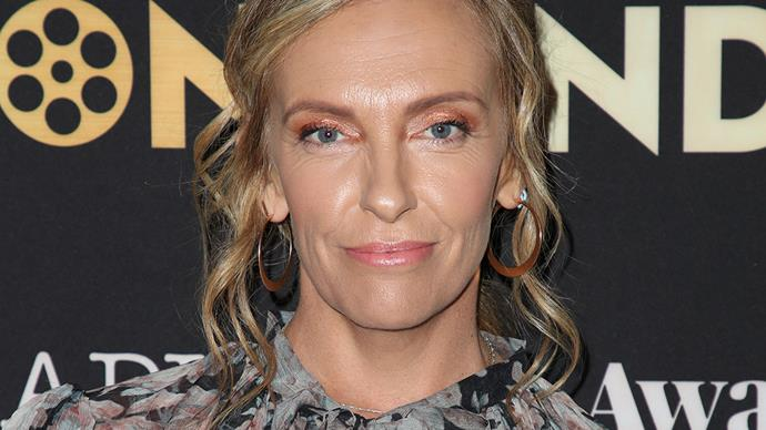 Toni Collette talking about marriage and Wanderlust.