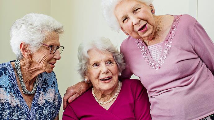 Napier earthquake survivors Teresa Dooley, Nola and Joan