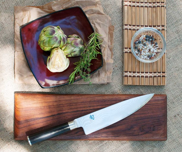 Win a super sharp, handcrafted Kai Shun Classic Chefs knife
