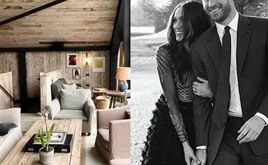 Here's a clue into what Prince Harry and Duchess Meghan's new home might look like