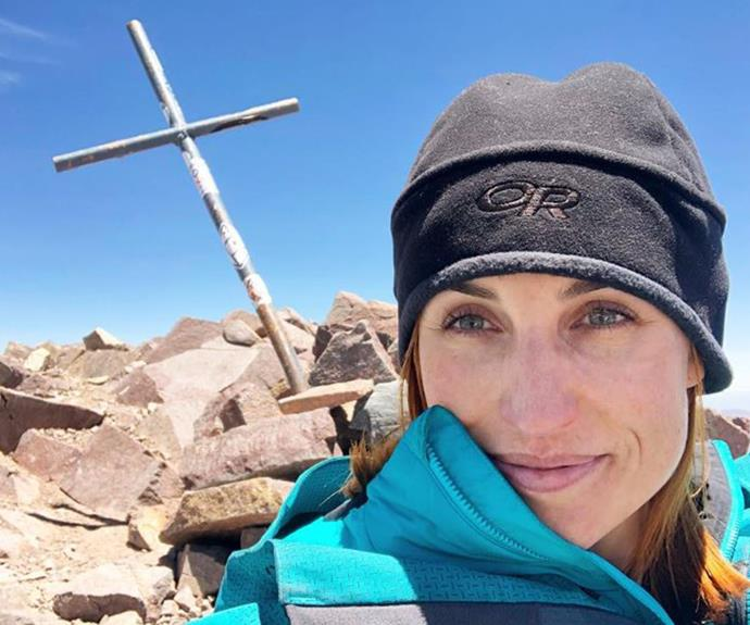 'The mountain won': Sam Hayes is still coming to terms with having to abandon her Andes mountain climb