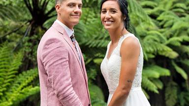 Black Ferns captain Sarah Goss' love and laughter-filled wedding