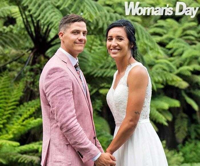 Black Ferns captain Sarah Goss' love and laughter-filled wedding
