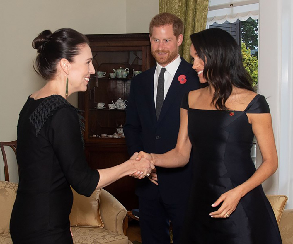 Meghan Just Hosted a Secret Meeting with New Zealand's Prime Minister