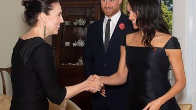 Jacinda Ardern and Duchess Meghan have had a secret meeting at Kensington Palace