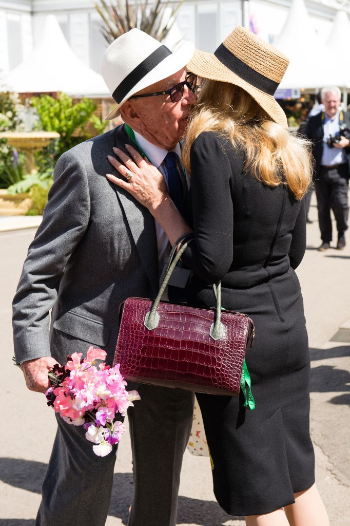 Rupert and Jerry still have that honeymoon feeling *Image: Getty*