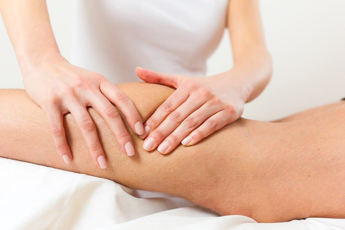 **Kinesiology** <br><br> This holistic therapy uses muscle testing to reveal energy flows throughout the body, and identify the underlying causes of health issues.  <br><br> Kinesiologists say it's crucial to get to the root of the problem so the body can heal itself. The practitioner applies light pressure to a muscle and gauges the response. They then tell you what they believe is most likely to bring the bodyback into balance. *(Source: Getty)*