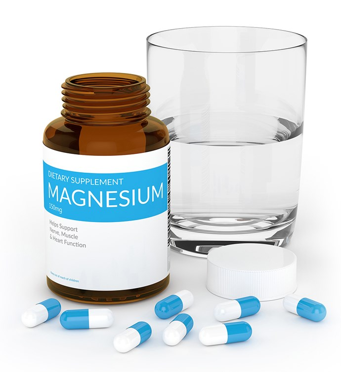 """**Magnesium** <br><br> [Magnesium is an essential mineral for general good health](https://www.nowtolove.co.nz/health/body/everything-you-need-to-know-about-magnesium-14052