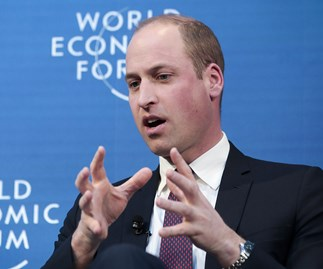 Prince William Mental Health World Economic Forum