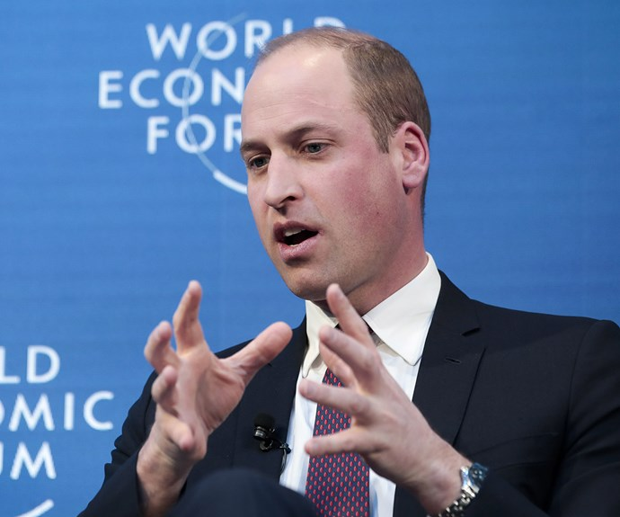 Prince William Mental Health World Economic Forum