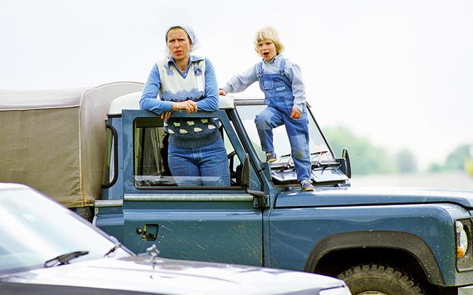 Princess Anne did all she could to give her kids a normal childhood. *Image:Getty*