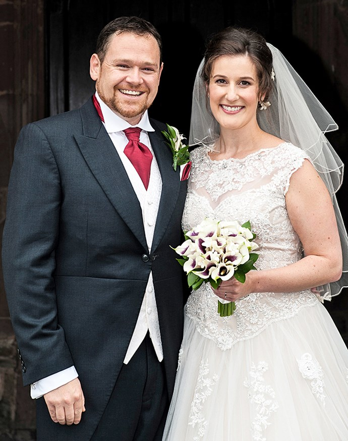 Shaun and Stephanie married in Wales in 2016.