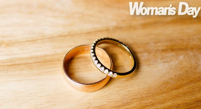 TJ's ring is made from part of his beloved late grandfather's wedding band.