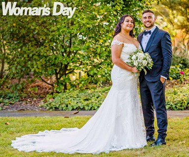 How TJ Perenara and Greer Samuel pulled off a surprise romantic backyard wedding